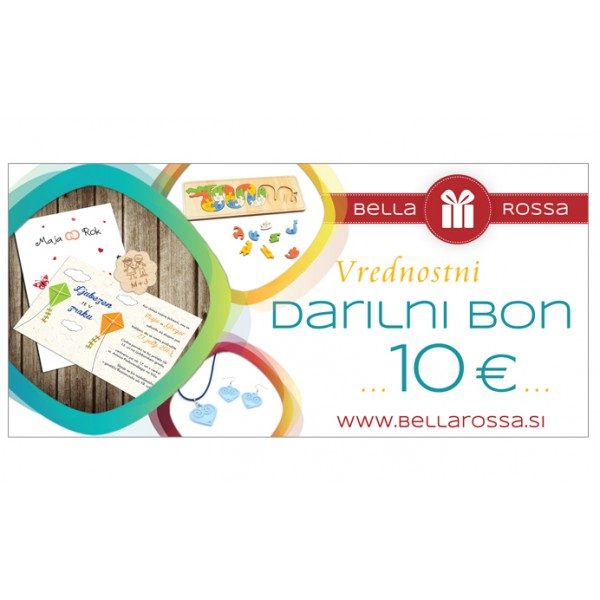Darilni bon - Bella Rossa - 10
