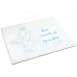 Krstni prtiček - angel moli