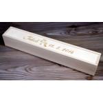 Škatla za krstno svečo - Klasika