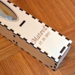 Škatla za krstno svečo