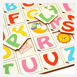 Lesene igrače in učila
