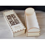 Škatla za krstno svečo - velika