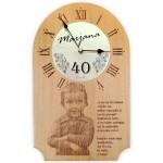 Unikatna lesena ura - otroštvo